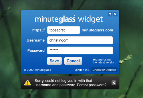 Minute Glass